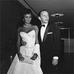 Sophia Loren, Frank Sinatra, Hollywood, California, 1957