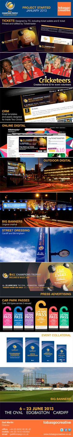 Here's a round up of our work for the ICC Champions Trophy 2013