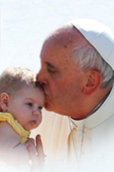 "Pope Francis: ""Every unborn child, though unjustly condemned to be aborted, has the face of the Lord, who even before his birth, and then as soon as he was born, experienced the rejection of the world."""