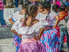 Revolution Day Parade, Zacualpan, Nayarit -- from a Painteresque Lens