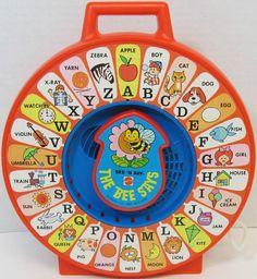 MATTEL: 1983 See 'N Say The Bee Says #Vintage #Toys