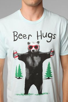 haha this is cute. n he loves to give BEAR hugs