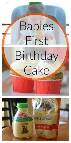 Recipe Babys First Healthy Cake Recipe Birthday cakes