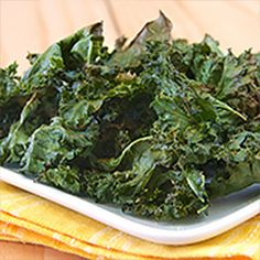 OLD BAY® Kale Chips - Trendy kale chips are so easy to make. Just toss fresh kale with olive oil and OLD BAY Seasoning before baking for a crispy snack.