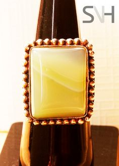 SNH  Handmade Jasper Ring by SNHJewels on Etsy