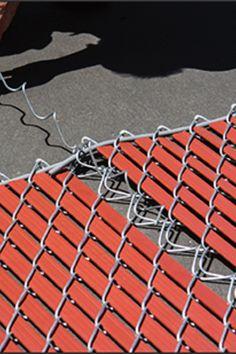7 best chain link fence privacy images gardens garden fencing rh pinterest com