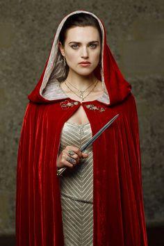 "Katie McGrath as Morgana in BBC's ""Merlin"" (2008-2012)"