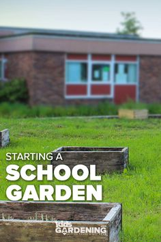 School gardens provide hands-on learning and teaching opportunities for all ages, abilities, and subjects. Understanding the goals, benefits, and steps Kid Garden, Garden Club, Outdoor Education, Kids Education, Back Gardens, Outdoor Gardens, World History Lessons, Outdoor Classroom, School Gardens