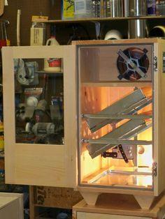 96 egg cabinet style incubator