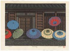 Umbrellas by Nishijima (born 1945)