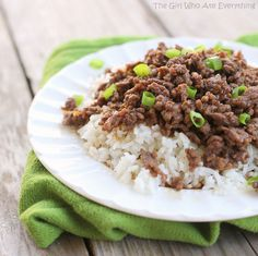 Korean Beef. So easy, cheap, and yummy!