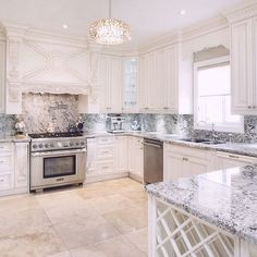 This mornings shoot started with this beautiful kitchen. Coming soon to contact it's located on a court in Woodbridge. Kitchen Inspirations, Beautiful Kitchens, House Design, Dream Kitchen, Home N Decor, Kitchen Remodel, House Rooms, Sweet Home, Home Kitchens