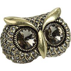 Glam Owl Ring