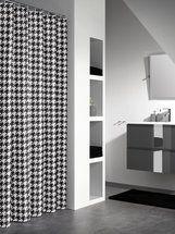 Shower curtain Sealskin Seamless black