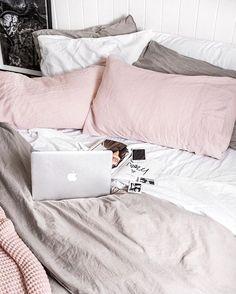 Perfect bedroom tones.