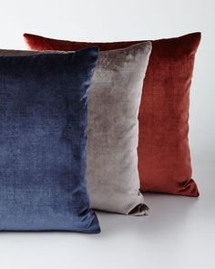 Shop Venice Knife-Edge Jewel-Tone Pillows from Eastern Accents at Horchow, where you'll find new lower shipping on hundreds of home furnishings and gifts. Home Decor Sale, Luxury Home Decor, Cheap Throw Pillows, Decorative Throw Pillows, Prestigious Textiles, Eastern Accents, Living Styles, Fine Linens, Pillow Sale