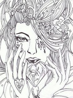 coloring pages for adults difficult fairies 86 Best colouring pages images | Coloring books, Coloring pages  coloring pages for adults difficult fairies
