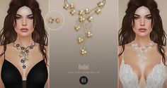 https://flic.kr/p/26f4Xtd   BEO - Anabel Set Necklace & Earrings   For The Trunk Show  April 19th - May 18th  TAXI  TAXI (After the event)  100% Original Mesh
