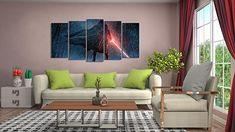 You do not have to go to a galaxy far far away to look for special Star Wars Gifts. Check Out our Top Picks & May The Gifts Be With You Star Wars Rebels, Star Wars Sith, Star Wars Painting, Stuff And Thangs, Nerd Stuff, Wall Signs, Starwars, Sweet Home, Canvas Art