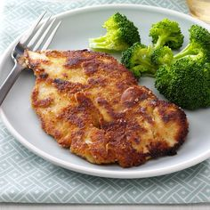 Honey-Mustard Breaded Chicken Recipe -I get bored with the same old chicken, so I came up with this simple recipe. The coating adds fast flavor to tender chicken cooked on the stovetop. —Laura Theofilis, Leonardtown, Maryland