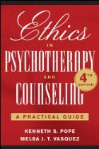 Ethics in Psychotherapy and Counseling by…