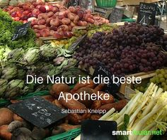 Die Natur ist die beste Apotheke. - Sebastian Kneipp Herb Garden, Herbs, Beef, Super, Food, Apothecary, Sustainability, Health And Fitness, Remedies