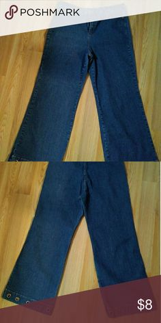 def6674ea708e Denim 24 7 wide leg pants 16w Denim 24 7 jean pants with a