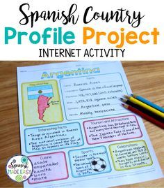 Spanish-Speaking Countries profile project.