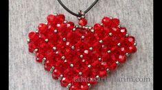 Kalp Modeli Cevşen Kolye Yapımı