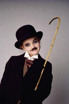 Drew Barrymore as Charlie Chaplin