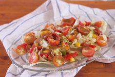Ensalada de melocotones con vinagreta de mostaza y miel | Comer con poco