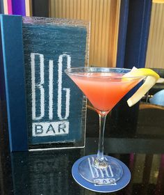 BIG Bar is participating in a charity drink called The Pink October. A portion of the proceeds will be donated to Bright Pink.