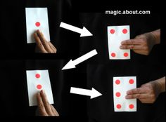 Learn How to Make the DIY Magic Set: The Jumping Dot Trick or Card With Four Sides