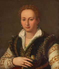 "Florentine ""veste"" or doublet gown."