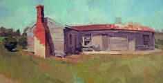 alexthebeck:  Recent commission of Allison's family farm.Anyone...