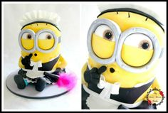 Minion Maid Phil - Cake by My Sweet Dream Cakes