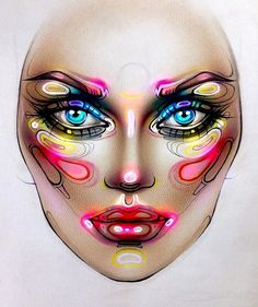 "6,457 Likes, 49 Comments - Sergey X (@milk1422) on Instagram: ""#artist@milk1412 ✨ #mylove #myart #myartistcommunity #myartistcommunityrussia #makeup #makeupart…"""