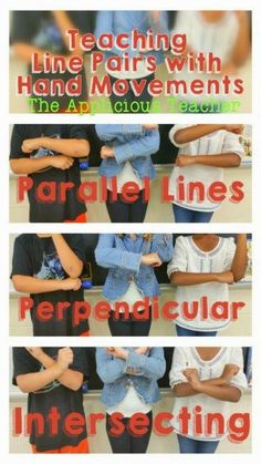 Teaching line pairs