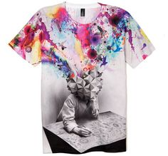 Fancy - Imaginary Foundation Study Tee by Mimm