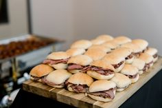 These delicious roast beef on Parker House Rolls from Type A Catering for a Limestone Hall wedding look delicious! Wedding Catering, Wedding Vendors, Weddings, Parker House Rolls, Wedding Appetizers, Hot Dog Buns, Kentucky, Bliss, Roast Beef