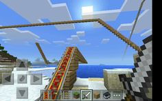 10 minute roller coaster ( I timed it) #myminecraft