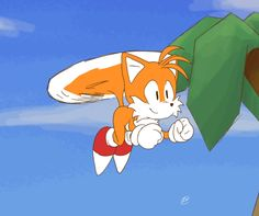 Flying Tails by Emuraman on DeviantArt Tails Sonic The Hedgehog, Shadow The Hedgehog, Cartoon Games, Cartoon Pics, Sonic 25th Anniversary, Bendy Y Boris, Sonic Funny, Sonic Franchise, Sonic Heroes