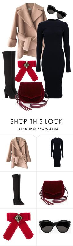 """Winter Getaway"" by johanavigu ❤ liked on Polyvore featuring Carven, Victoria Beckham, Aquazzura, Rebecca Minkoff, Gucci, Yves Saint Laurent, Packandgo and WinterGetAway"