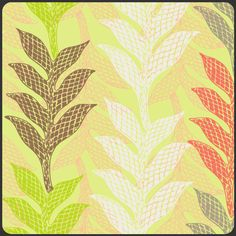 Art Gallery Fabrics - Green Lamina