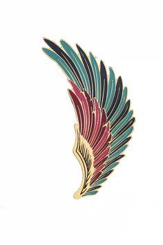 Arete Earcuff alas del papagayo - La Libertad Joyería