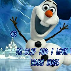 """He's Olaf and he likes warm hugs. Sprung from the Snow Queen's magical powers, Olaf is by far the friendliest snowman to walk the mountains above Arendelle, in Walt Disney Animation Studios' stunning big-screen comedy-adventure """"Frozen. Disney Frozen Olaf, Walt Disney, Disney Family, Disney Fun, Frozen Wallpaper, Iphone 6 Plus Wallpaper, Disney Wallpaper, 1080p Wallpaper, Disney Sidekicks"""
