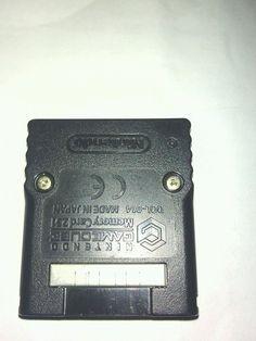 Nintendo Gamecube Memory Card 251 Dol-014