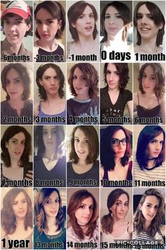 icu ~ Pin on Beautiful girl face ~ 30 Oct 2019 - I love month-by-month timelines. So here's mine:) - transtimelines Transgender Tips, Transgender Comic, Male To Female Transgender, Male To Female Transition, Mtf Transition, Mtf Hormones, Female Hormones, Mtf Hrt, Trans Mtf