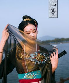 Traditional Chinese hanfu | Tang dynasty fashion | Clothes by 宴山亭汉服.