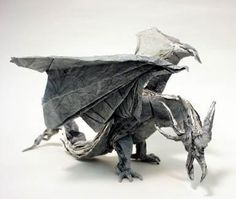 Origami Ancient Dragon 4